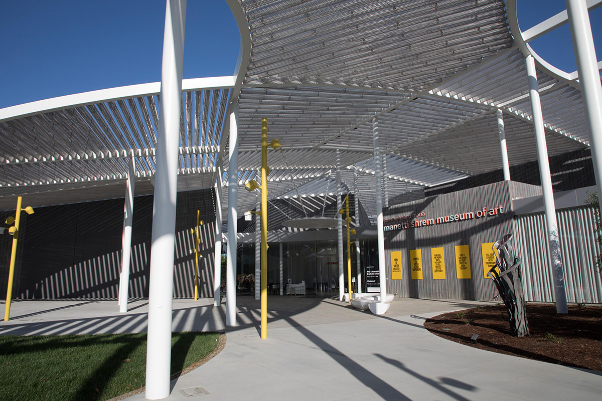 Image to show the Manetti-Shrem Museum of Art